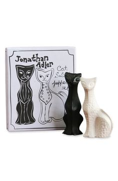 Cat Lady Gifts: Cat Salt and Pepper Shakers ($48)