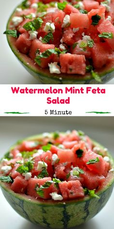 Watermelon Mint Feta