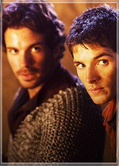Lancelot and Merlin.