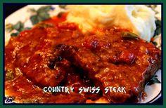 Sweet Tea and Cornbread: Country Swiss Steak!