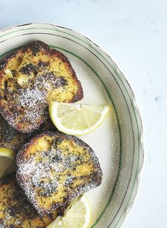 Lemon and Poppy Seed French Toast | The Sugar Hit