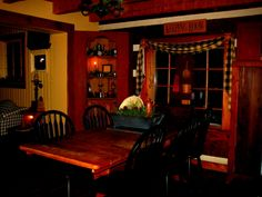 our keeping room at Christmas...tom and Debbie...2013