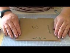 File folder tutorial - YouTube -  I thought I was done with the mini books, but this one really has me intrigued!
