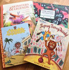 Amazing picture books from @FlyingEyeBooks