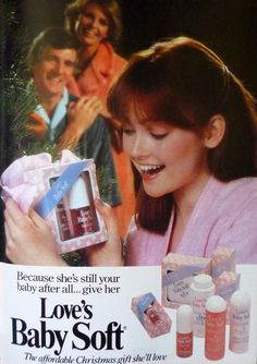 Love's Baby Soft...every Christmas...