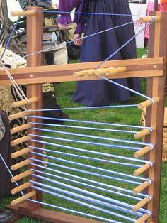 inkle loom by blindtraveller, via Flickr inkle loom, inkl loom, tablet weav