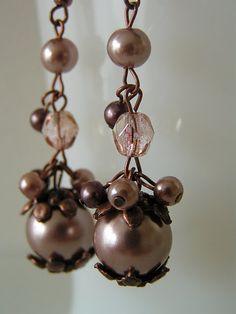 Earring tutorial jewelry tutorials, diy tutorial, pearl earrings, make jewelry, diy jewelry, beaded earrings, jewelry making tutorials, dangle earrings, diy earrings
