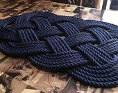 beautiful braided rug,