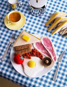 funki food, comfort foods, knit food
