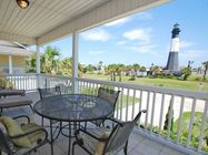 Rent a cottage on Tybee Island, Georgia. There are cottages all over the island, from under the lighthouse to on the beach. All have modern conveniences and lots of character. Be sure to check out the art seminars.