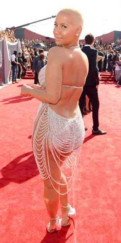 You have to see where Amber Rose got her wardrobe inspiration from for the MTV VMAs!