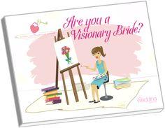 visionary-bride-ebook #wedding #bridal