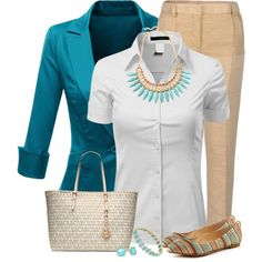 Turquoise Jewelry for the Office