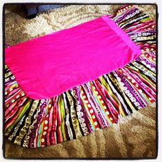 How to Make a Crib Bed Skirt