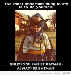 Batman, Batman, Batman!
