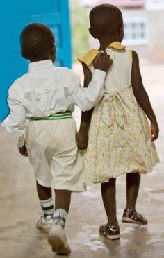 Getting ready for holidays in Uganda.