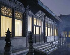 The Pavilion of Beautiful Scenery, inside which Cixi gave birth to the future Tongzhi Emperor.