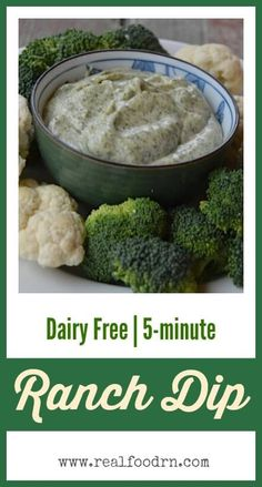 5-minute Ranch Dip.