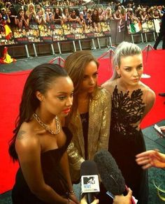 Leigh-Anne, Jade, and Perrie on the red carpet!