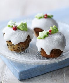 Christmas mini-muffins: super easy and make perfect #Christmas nibbles