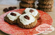 Melissa's Southern Style Kitchen: Carrot Cake Pudding Cookies