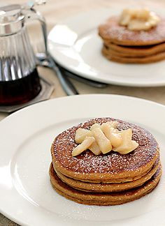 Gingerbread Pancakes for Christmas Morning.