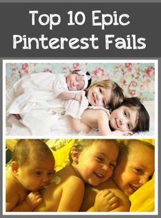 Top 10 Epic Pinterest Fails