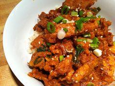 Korean spicy pork food idea, yummi food