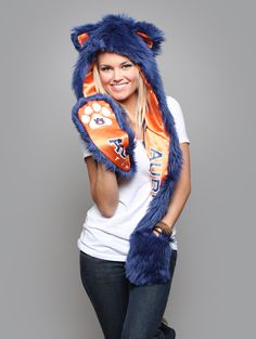 Team SpiritHoods: Are You A Fanimal? AUBURN Traits: Fierce > Powerful > Protective.  The Tiger is considered to be the king of all beasts and has an extremely powerful energy. People with the Tiger spirit tend to be confident, loving & wise. $89 https://spirithoods.com/teams/womens/auburn/1472/# #Fashion #Sports #College #Gifts #School #Spirit #Football #Fanimal #SpiritHood #SpiritHoods #Hoodie #Hat #Paws #Scarf #Team #Auburn #Tiger #Women #InnerAnimal
