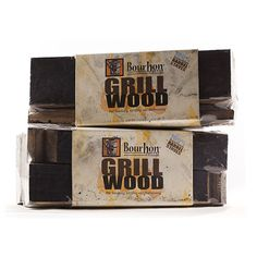 Bourbon Barrel Gill Wood ($14): Bourbon-soaked anything is good, amiright? Put the taste of bourbon directly into the fire with these wood blocks made from charred oak barrels.