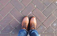 You Auto Know in Amsterdam: Aldo oxford boots.