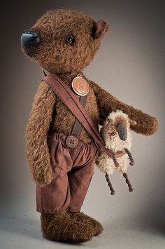 Vintage #teddy, #teddies, #bears, #toys, #pinsland, https://apps.facebook.com/yangutu