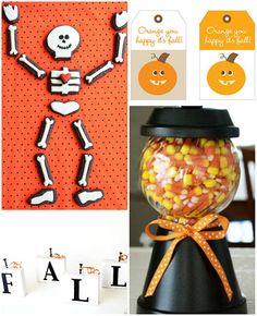 Fall craft ideas at TidyMom.net