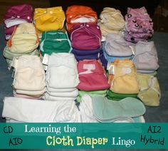 Cloth Diapering 101--Learning the Lingo - Oh So Savvy Mom