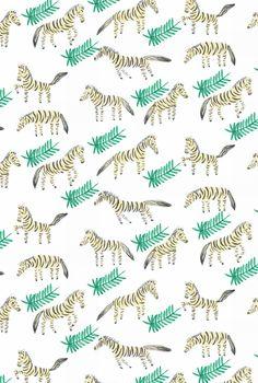 """jungle zebras"" by Elena Mir"
