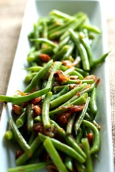 Green Beans with Smoked Paprika and Marcona Almonds