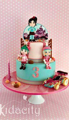 Sugar Rush (Wreck it Ralph) Cake