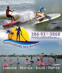 Paddleboarding is really catching on in New Smyrna Beach.  Looks like alot of fun!