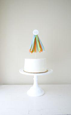 Tassel Cake Topper