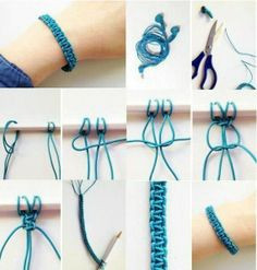 DIY Bracelet! If u have some old headphones that don't work anymore, instead of throwing them out, make a little bracelet!