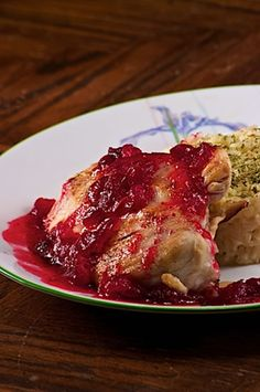 Slow Cooker Cranberry Chicken Recipe