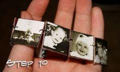 A B/W Photo Bracelet: All the instructions you need to make a darling photo bracelet.