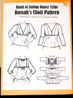 FREE CHOLI PATTERNS - Lena Patterns - FLOW PATTERN MAPS