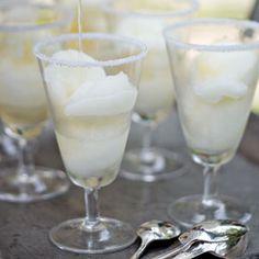 Lime Sorbet Margaritas | MyRecipes.com