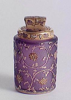 Daum Freres – Thistles with Flacon , C. 1895-1898