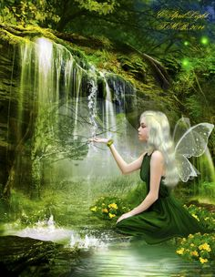 Fairytale of Spring by AprilLight.deviantart.com on @deviantART