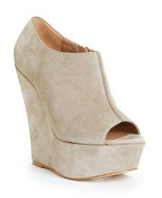 Winter wedge shoe