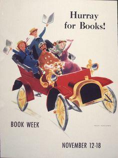 Official Children's Book Week poster, 1961, Peter Burchard, (1921-2004)