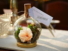DIY Weddings: Party Favor Projects and Ideas. DIY terrarium place holder >> http://www.diynetwork.com/decorating/diy-weddings-party-favor-projects-and-ideas/pictures/index.html?soc=pinterest