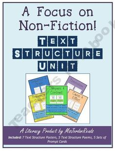Non-Fiction Text Structures {BUNDLE}